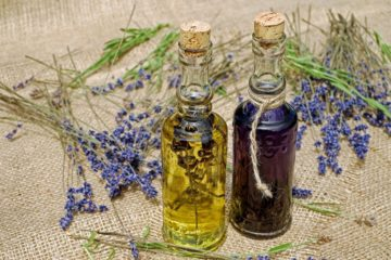 Lavendel und Lavendelöl